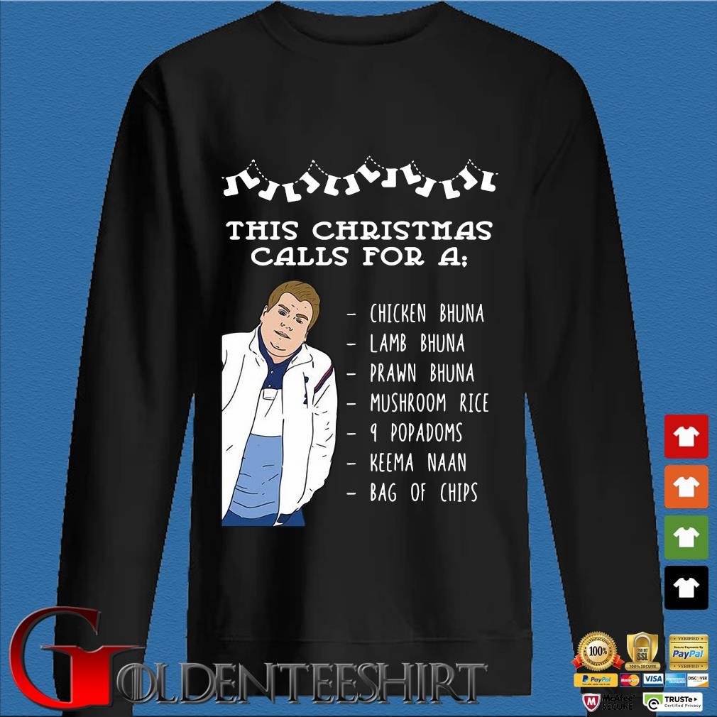 This Christmas calls for a chicken bhuna lamb bhuna prawn bhuna sweater