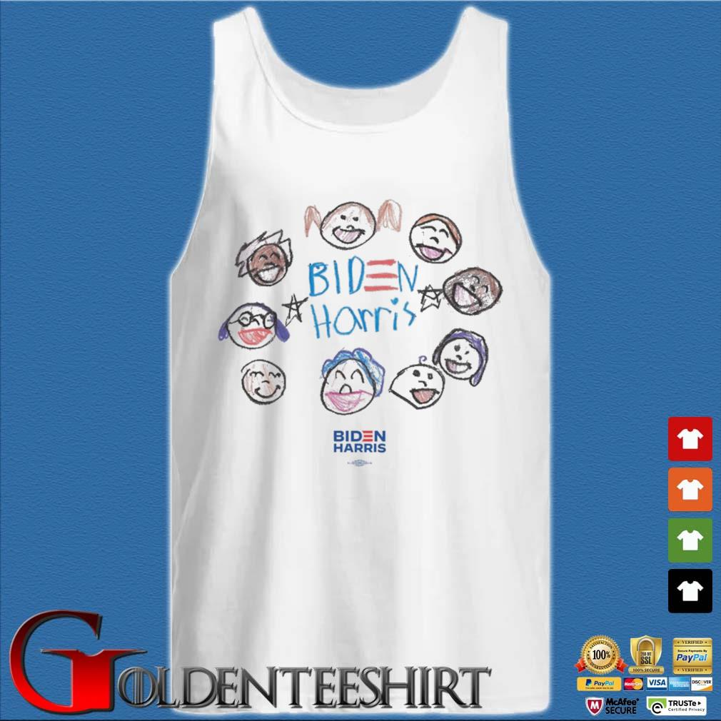 Together with Biden Harris Youth Shirt Tank top trắng