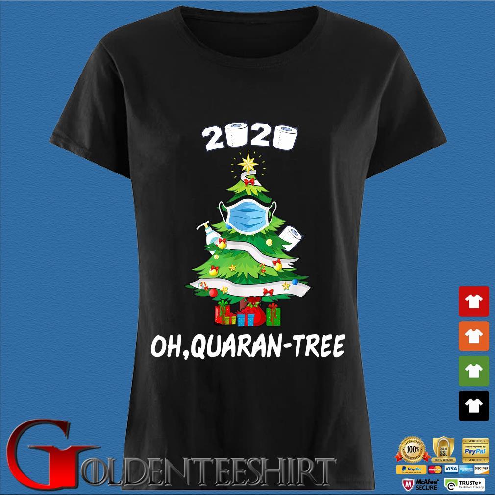 Toilet paper 2020 oh Quaran-tree Christmas tree face mask sweater Den Ladies