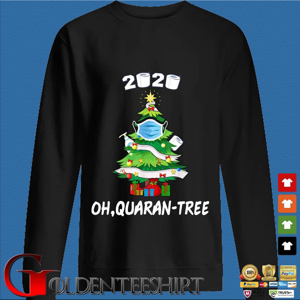 Toilet paper 2020 oh Quaran-tree Christmas tree face mask sweater