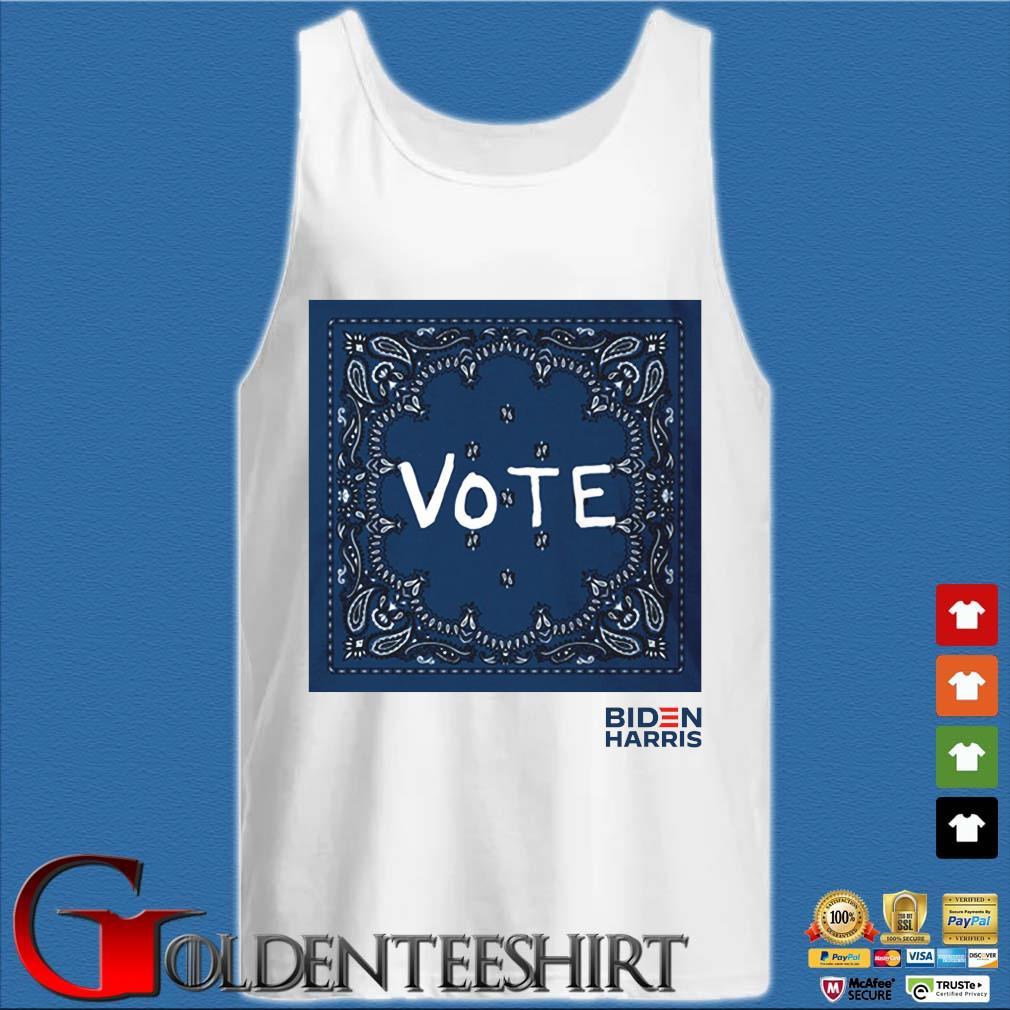 Tory Burch Vote Biden Harris Shirt Tank top trắng
