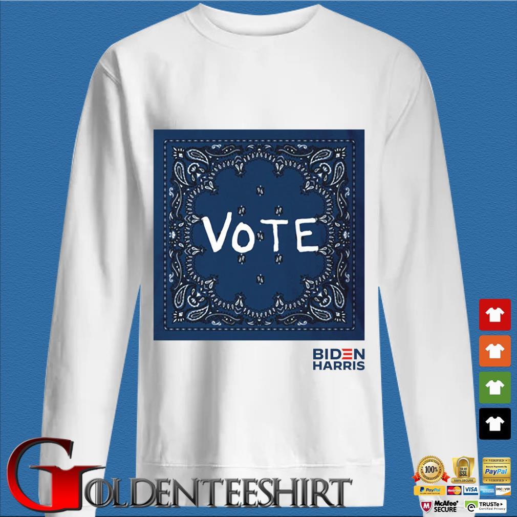 Tory Burch Vote Biden Harris Shirt