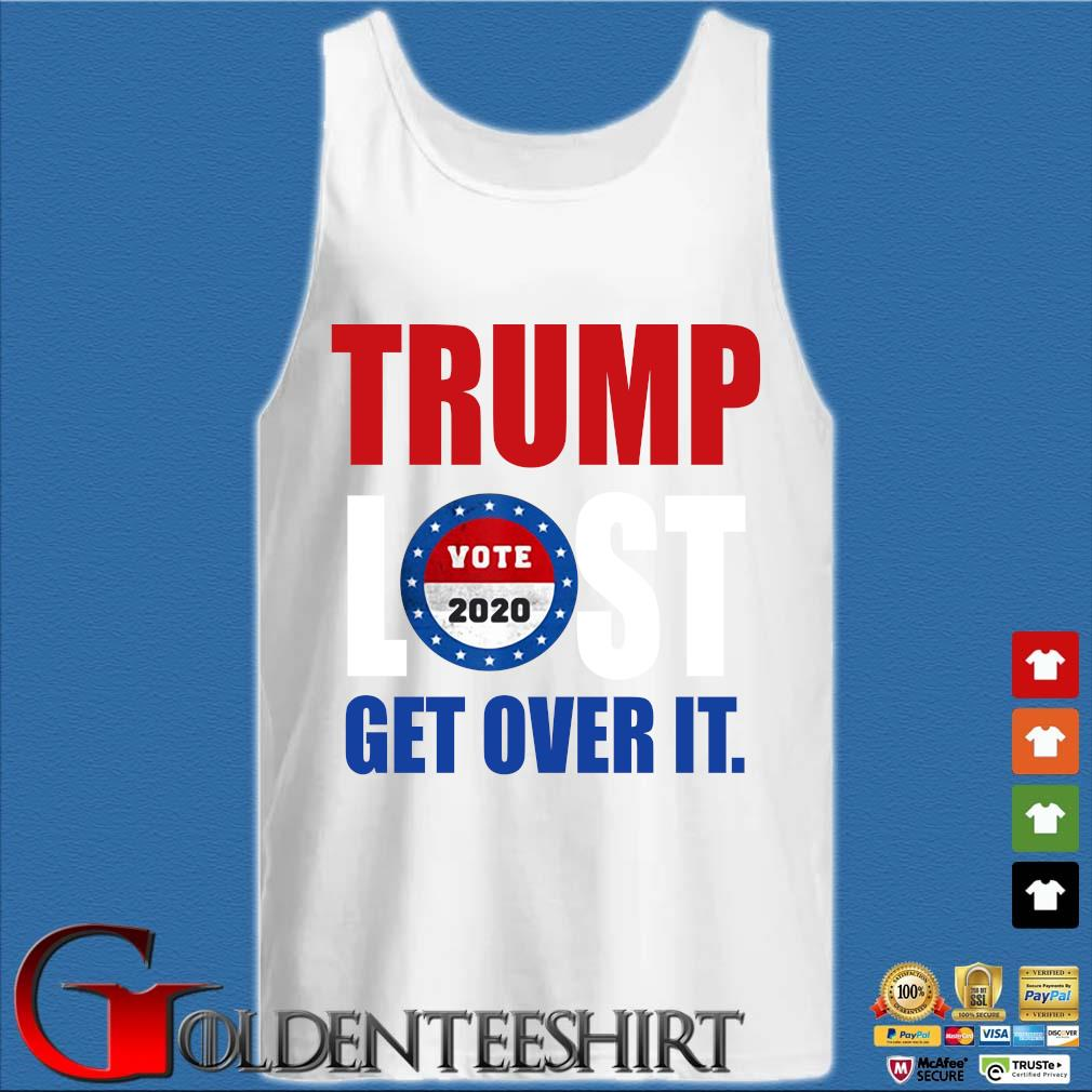 Trump lost Biden election 2020 winner s Tank top trắng