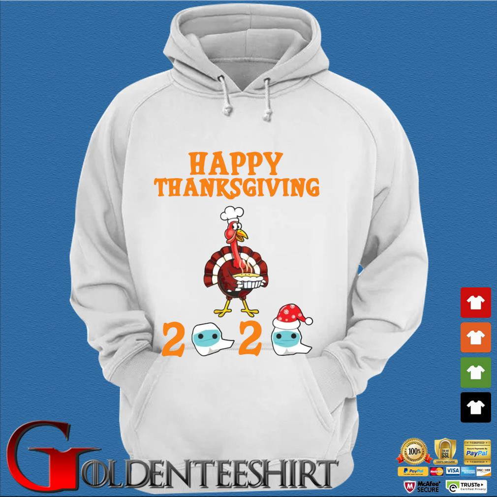 Turkey happy Thanksgiving 2020 face mask sweater Trang Hoodie