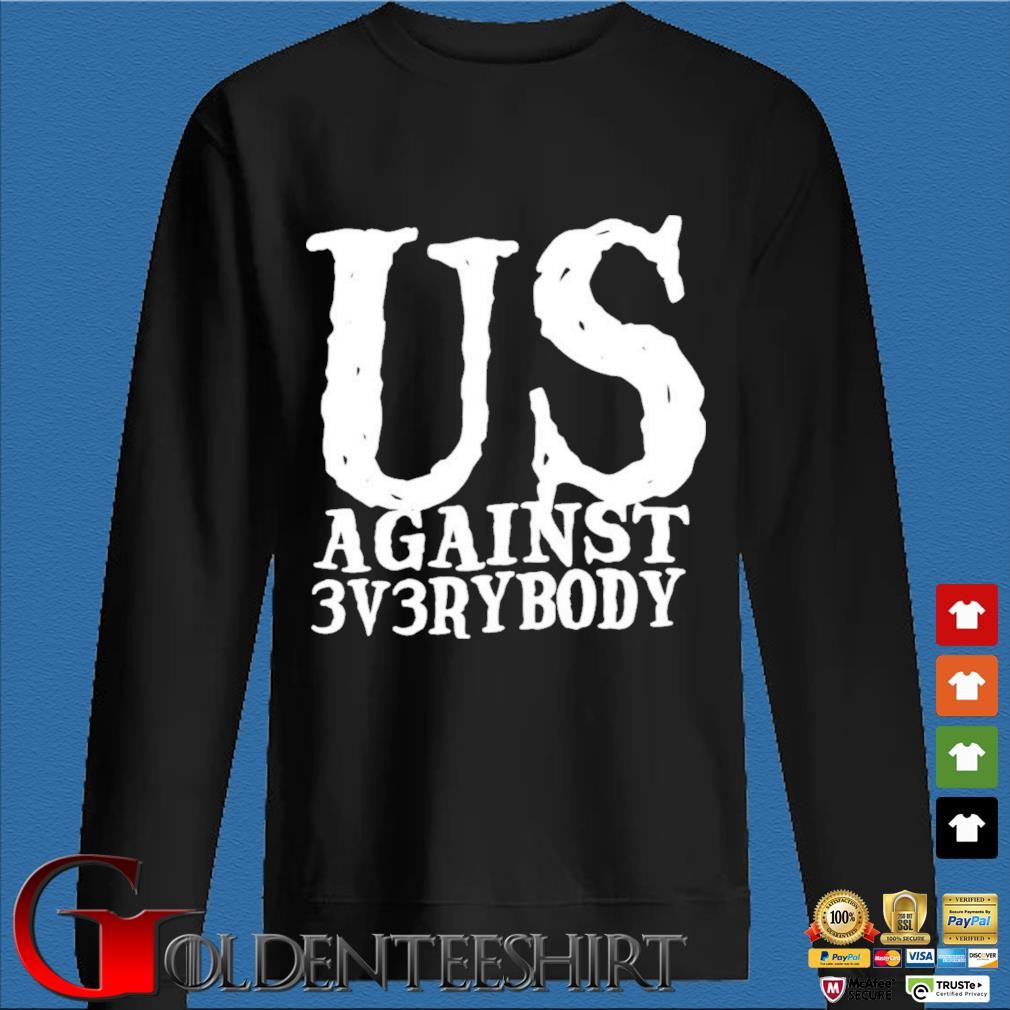 Ua3 Clothing Merch US Against 3v3rybody Shirt