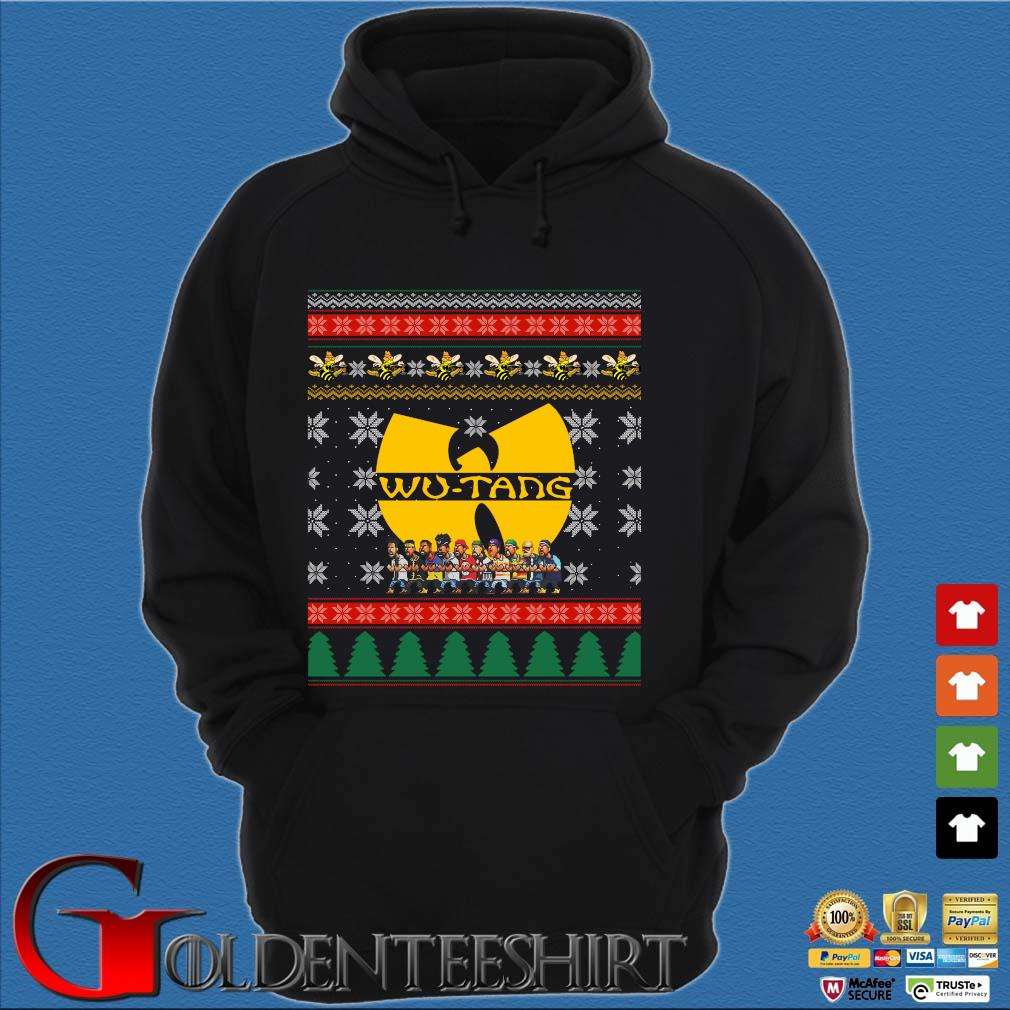 Wu Tang Ugly Christmas 2020 Sweater Hoodie đen