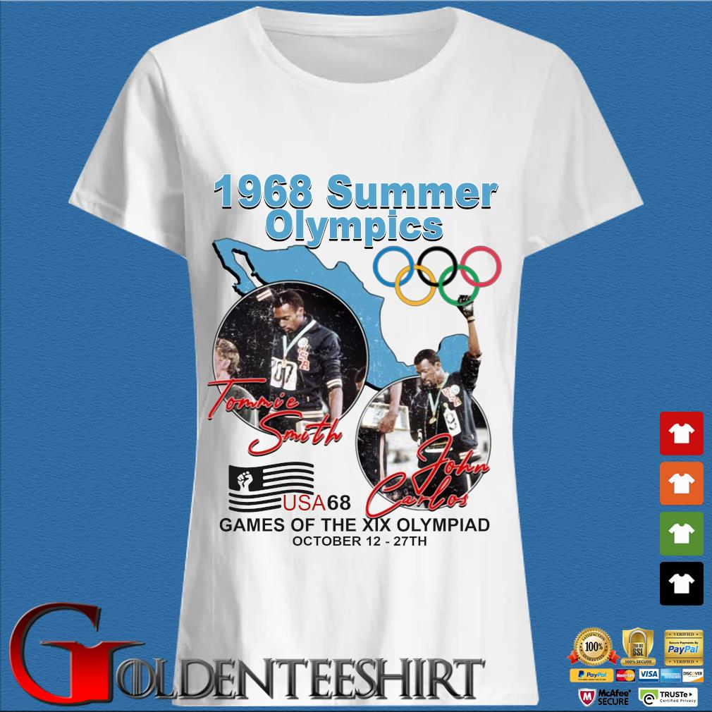 1968 summer Olympics Tommie Smith John Carlos USA68 games of the XIX Olympiad october 12 27 th s Trang Ladies