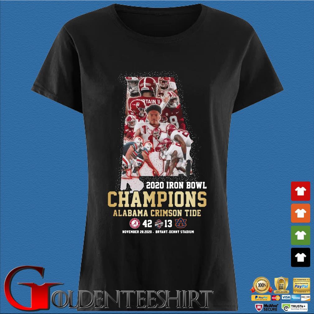 2020 Iron Bowl Champions Alabama Crimson Tide s Den Ladies