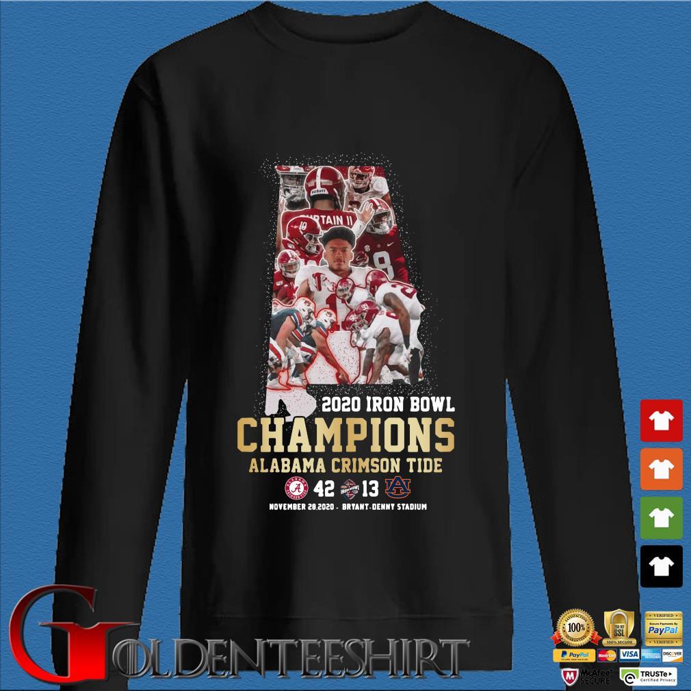 2020 Iron Bowl Champions Alabama Crimson Tide shirt