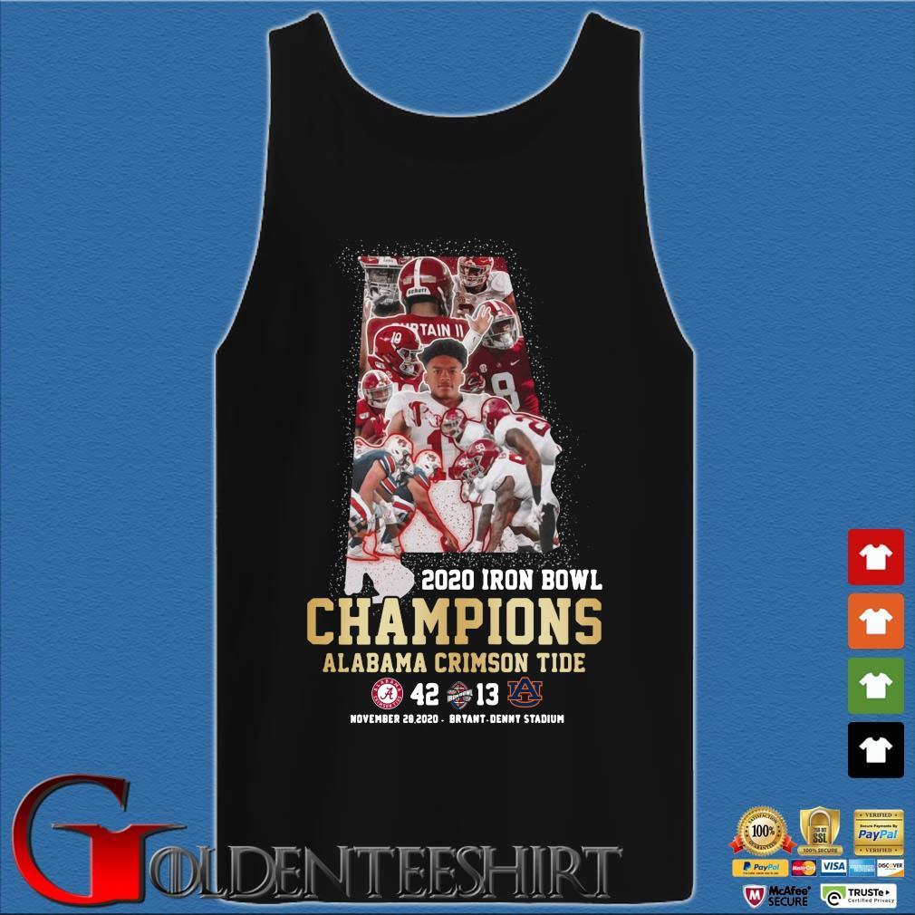 2020 Iron Bowl Champions Alabama Crimson Tide s Tank top den