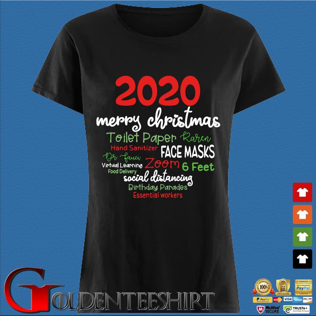 2020 Merry Christmas toilet paper karen hand sanitizer face masks sweater Den Ladies