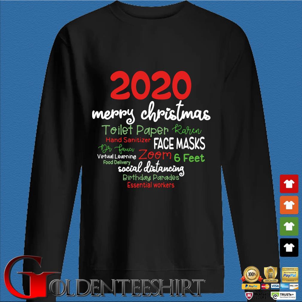 2020 Merry Christmas toilet paper karen hand sanitizer face masks sweater