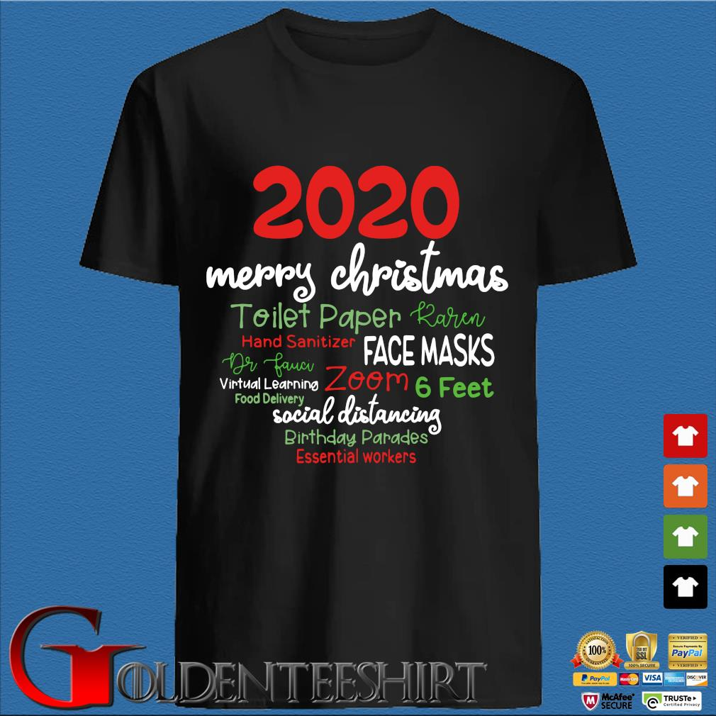 2020 Merry Christmas toilet paper karen hand sanitizer face masks sweater den Shirt