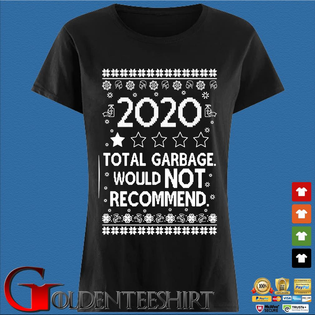2020 total garbage would not recommend Ugly Christmas sweater Den Ladies