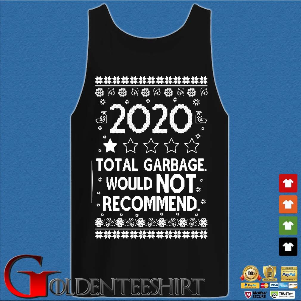 2020 total garbage would not recommend Ugly Christmas sweater Tank top den