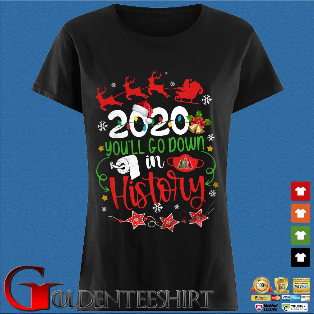 2020 you'll go down in history Christmas sweater Den Ladies