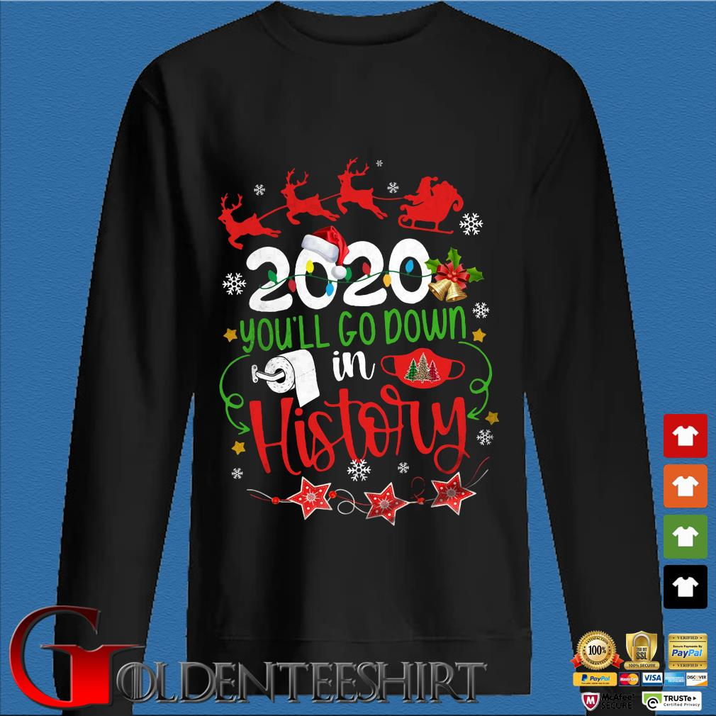 2020 you'll go down in history Christmas sweater