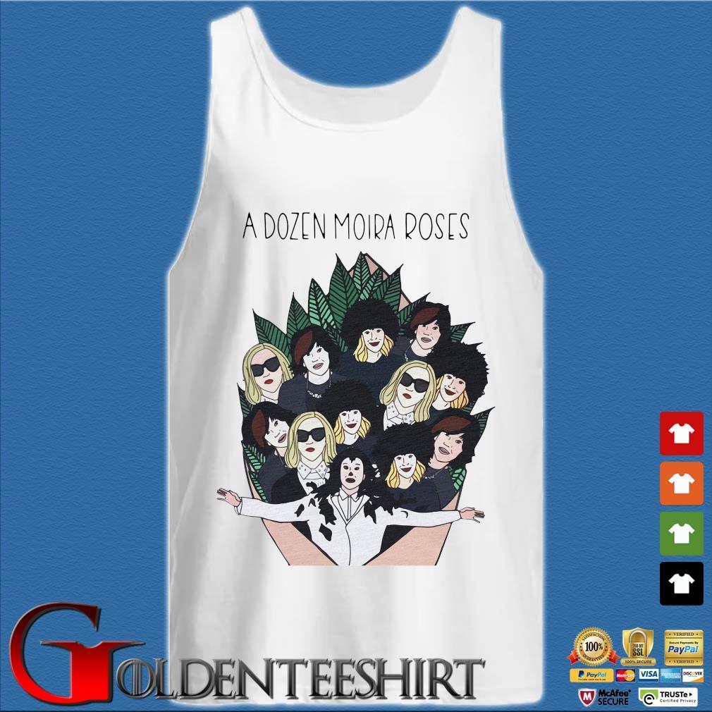 A Dozen Moria Roses Shirt Tank top trắng