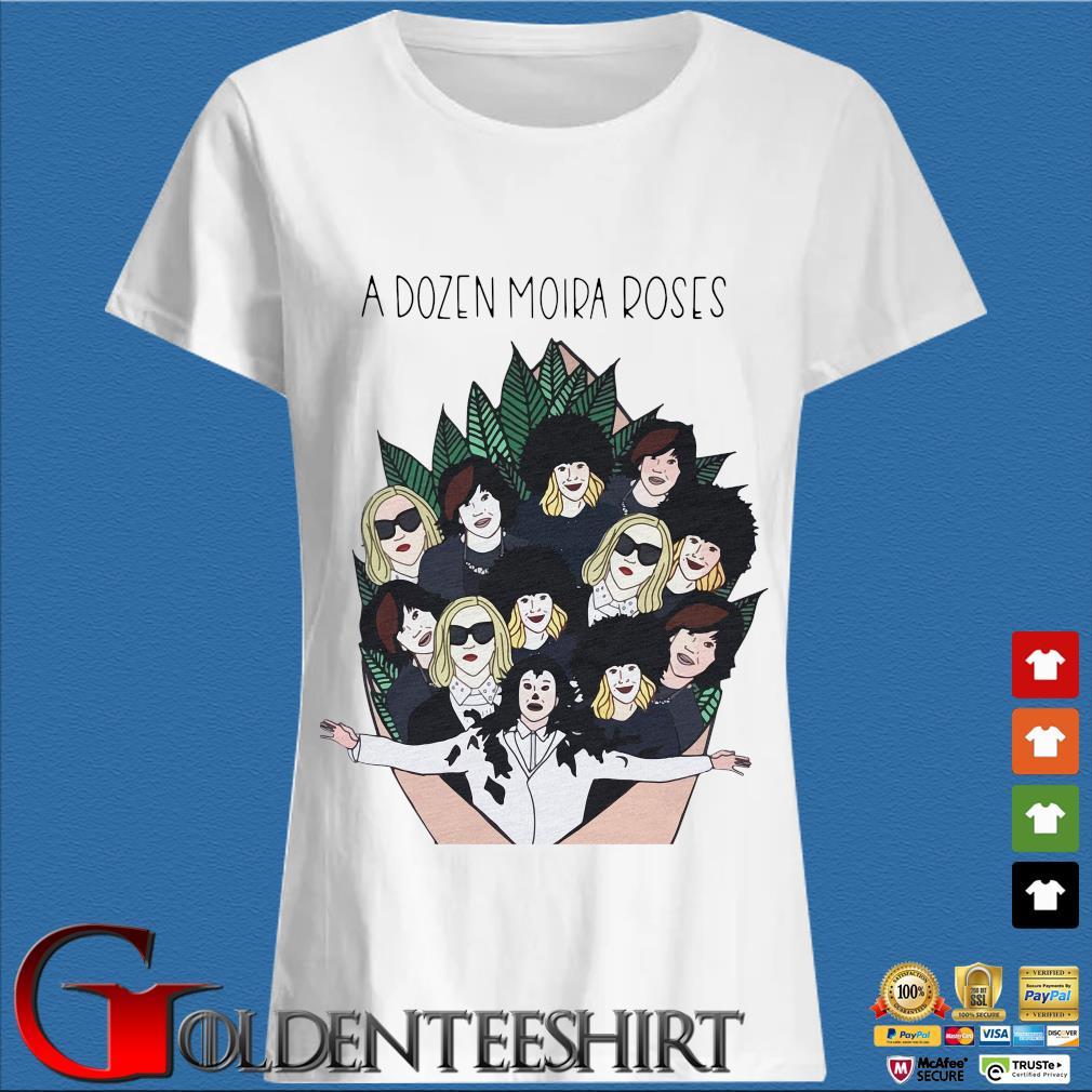 A Dozen Moria Roses Shirt Trang Ladies