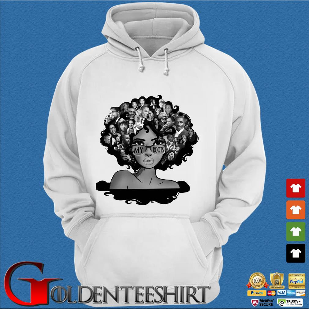 Afro Afro Lady Roots My Roots Obama Rosa Shirt Trang Hoodie