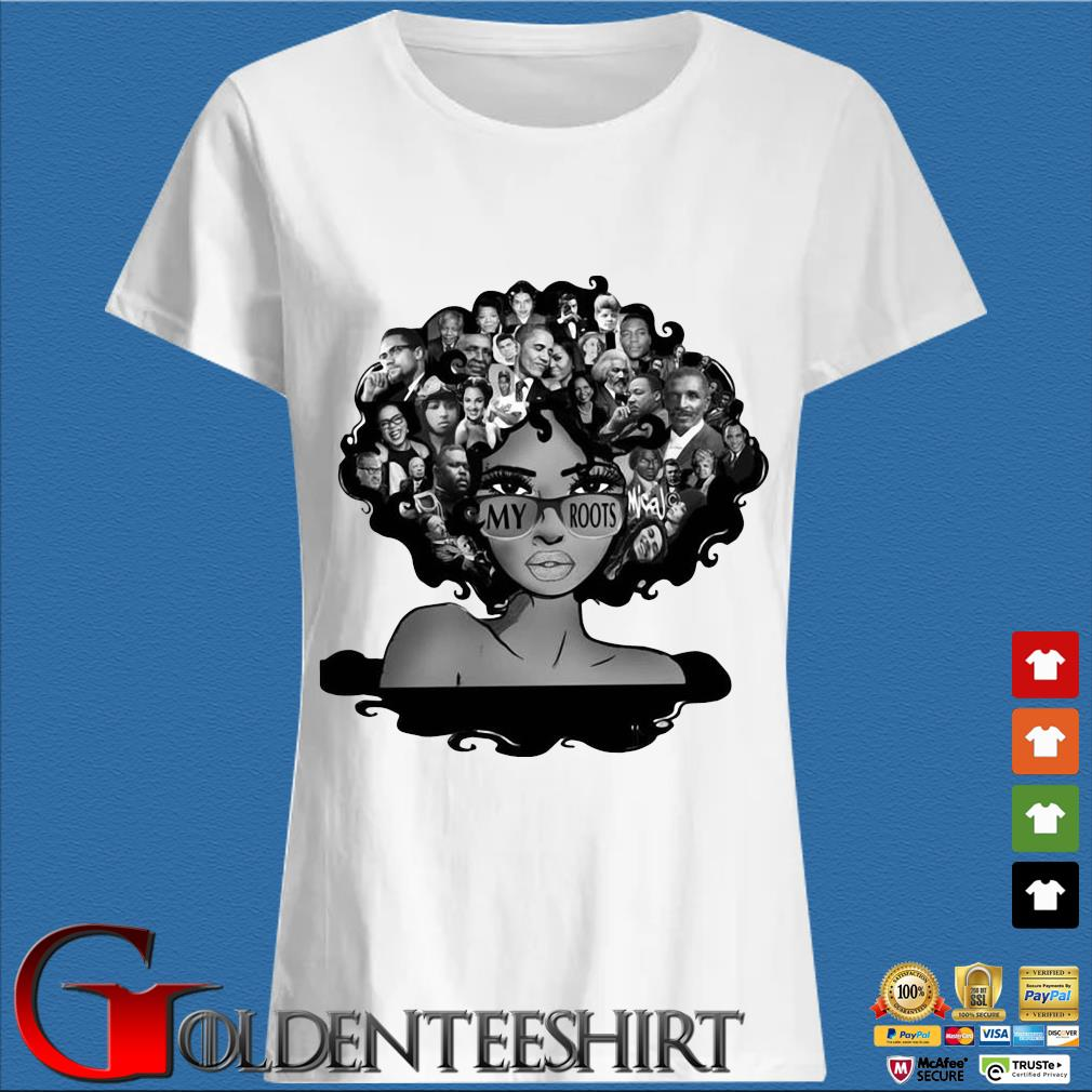 Afro Afro Lady Roots My Roots Obama Rosa Shirt Trang Ladies