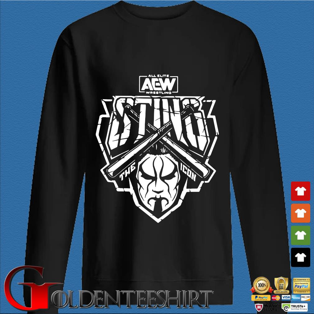 All elite aew wrestling the icon shirt