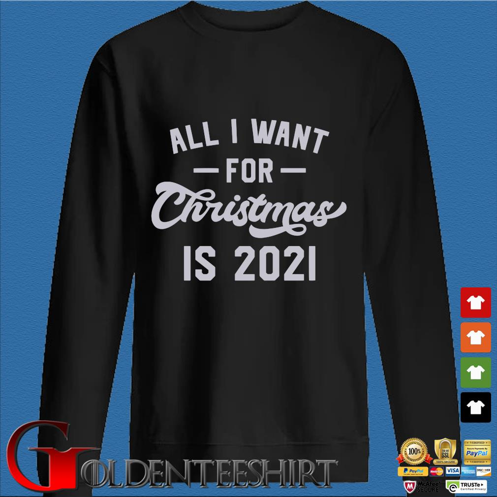 All I want for Christmas is 2021 sweater