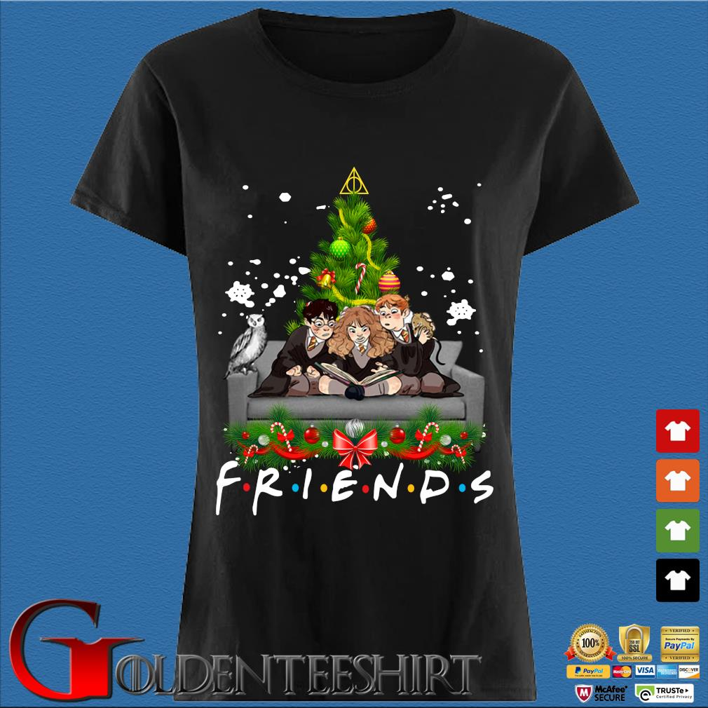 Harry Potter Ron and Hermione Friends Christmas sweater Den Ladies