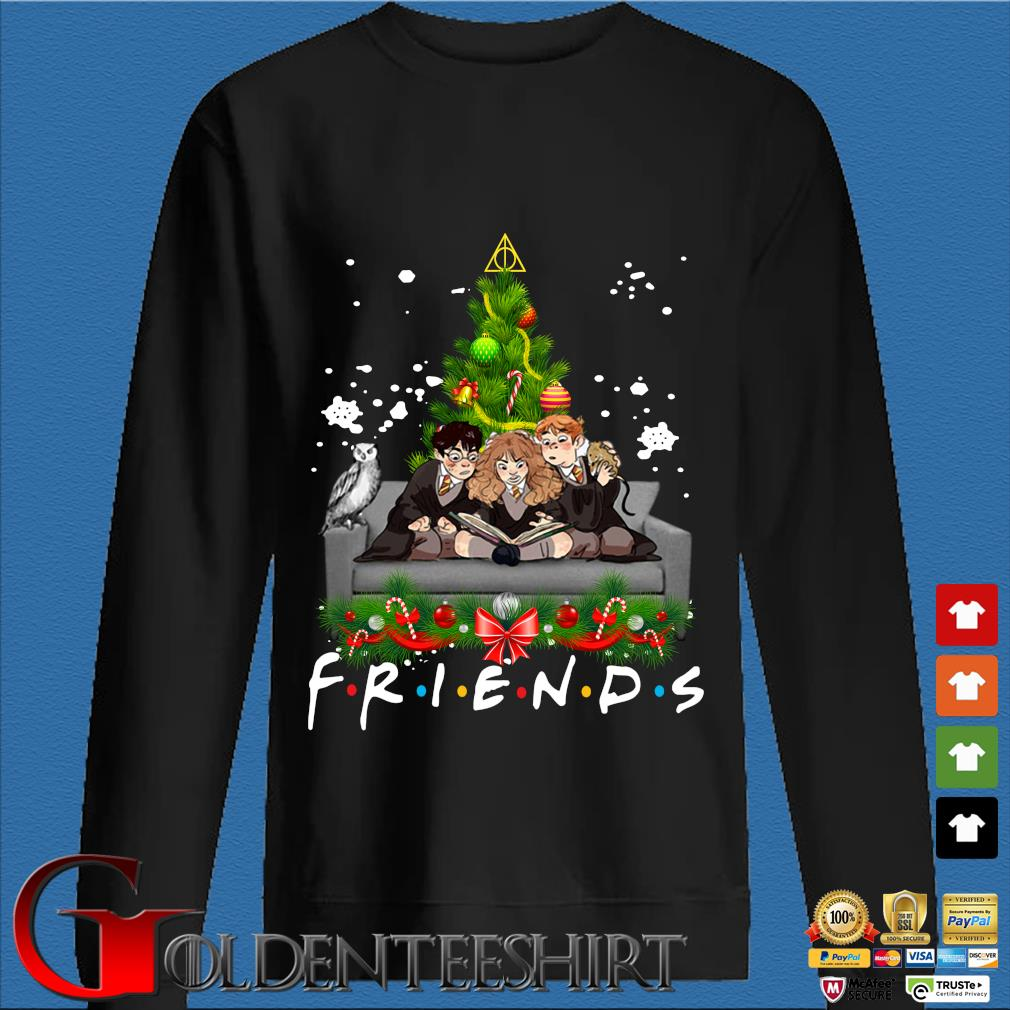 Harry Potter Ron and Hermione Friends Christmas sweater