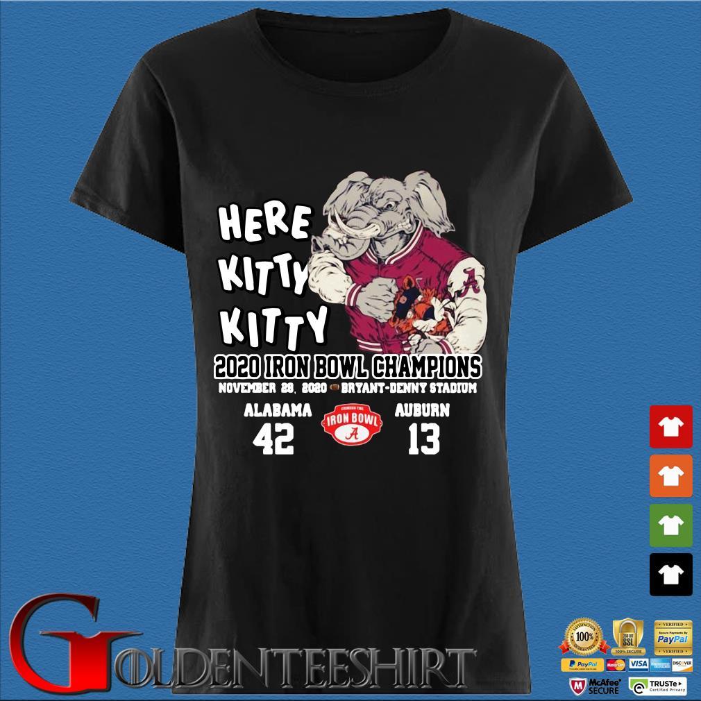 Here kitty kitty 2020 Iron Bowl Champions Alabama Auburn s Den Ladies