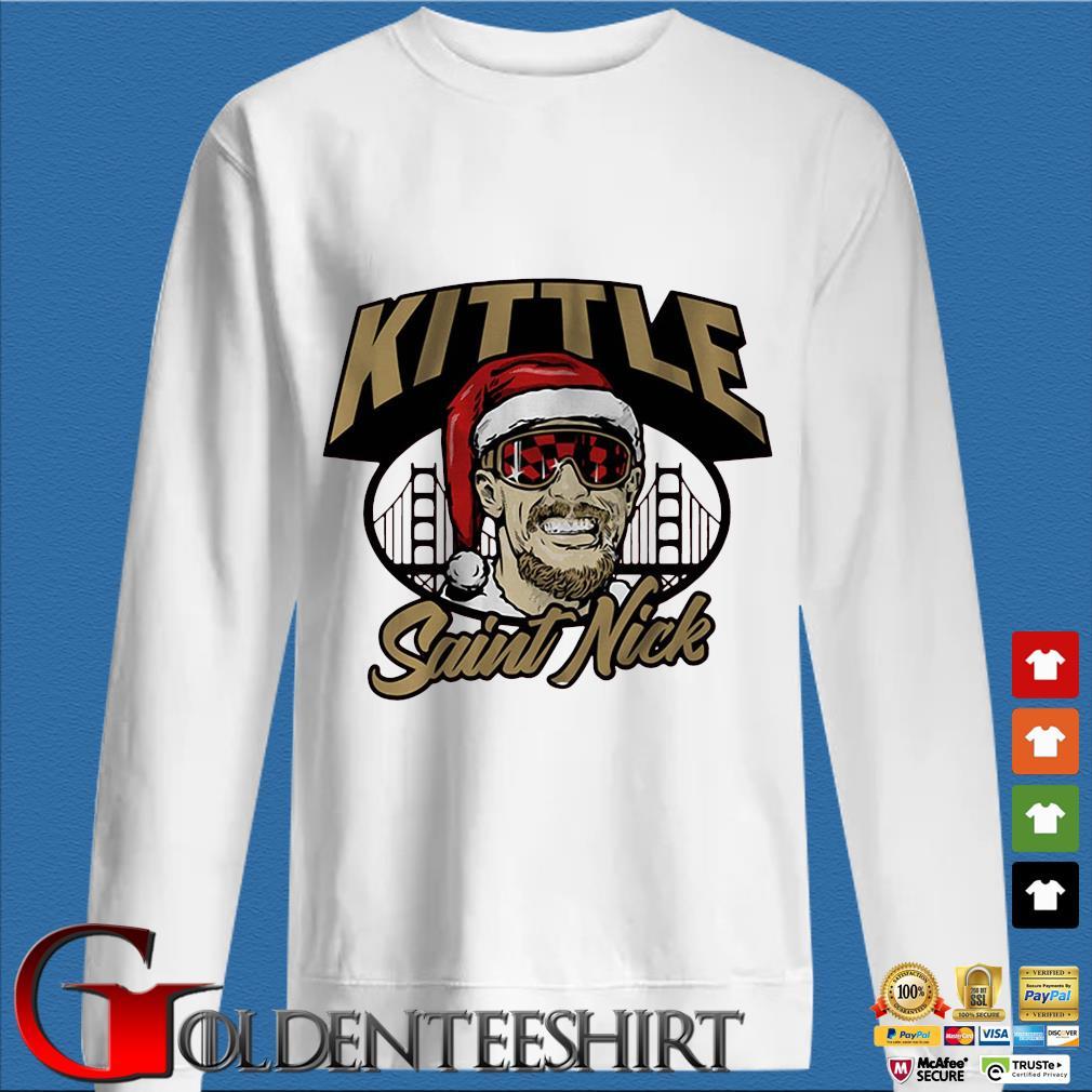 Santa Saint Nick kittle shirt