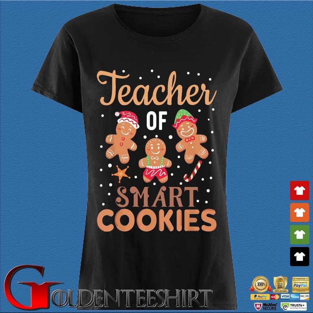 Teacher of smart cookies Christmas sweater Den Ladies