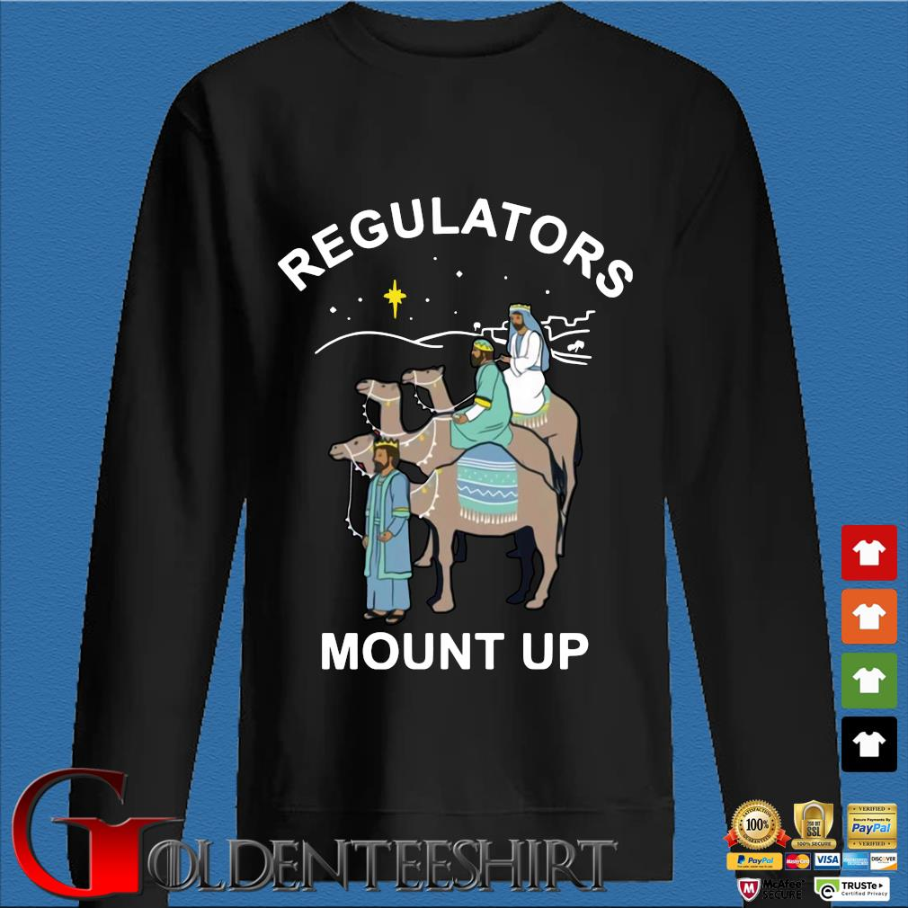 Three King Regulators mount up shirt