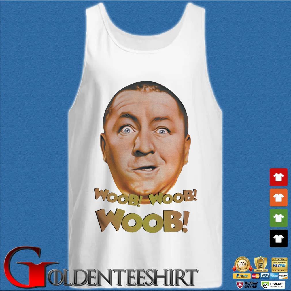 Three Stooges Curly Woob Woob Woob Shirt Tank top trắng