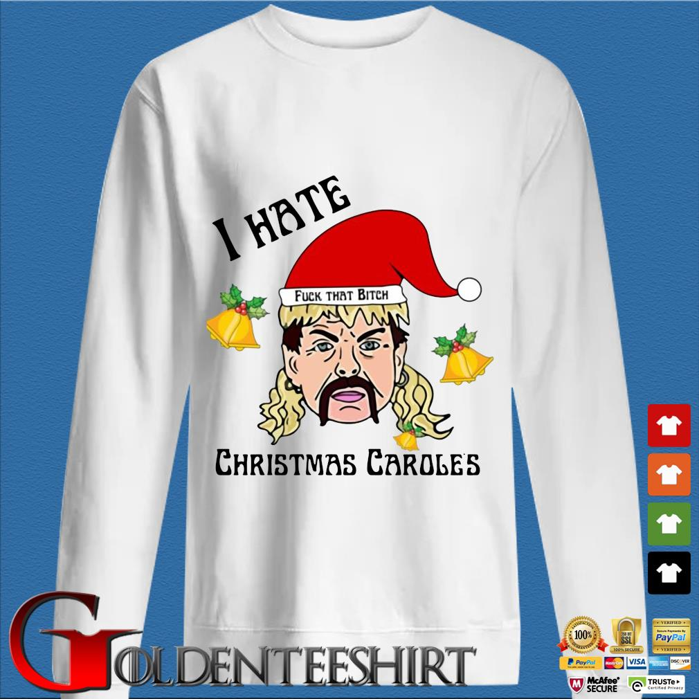 Tiger King Joe Exotic Santa fuck that bitch I hate Christmas Carole's Christmas sweater