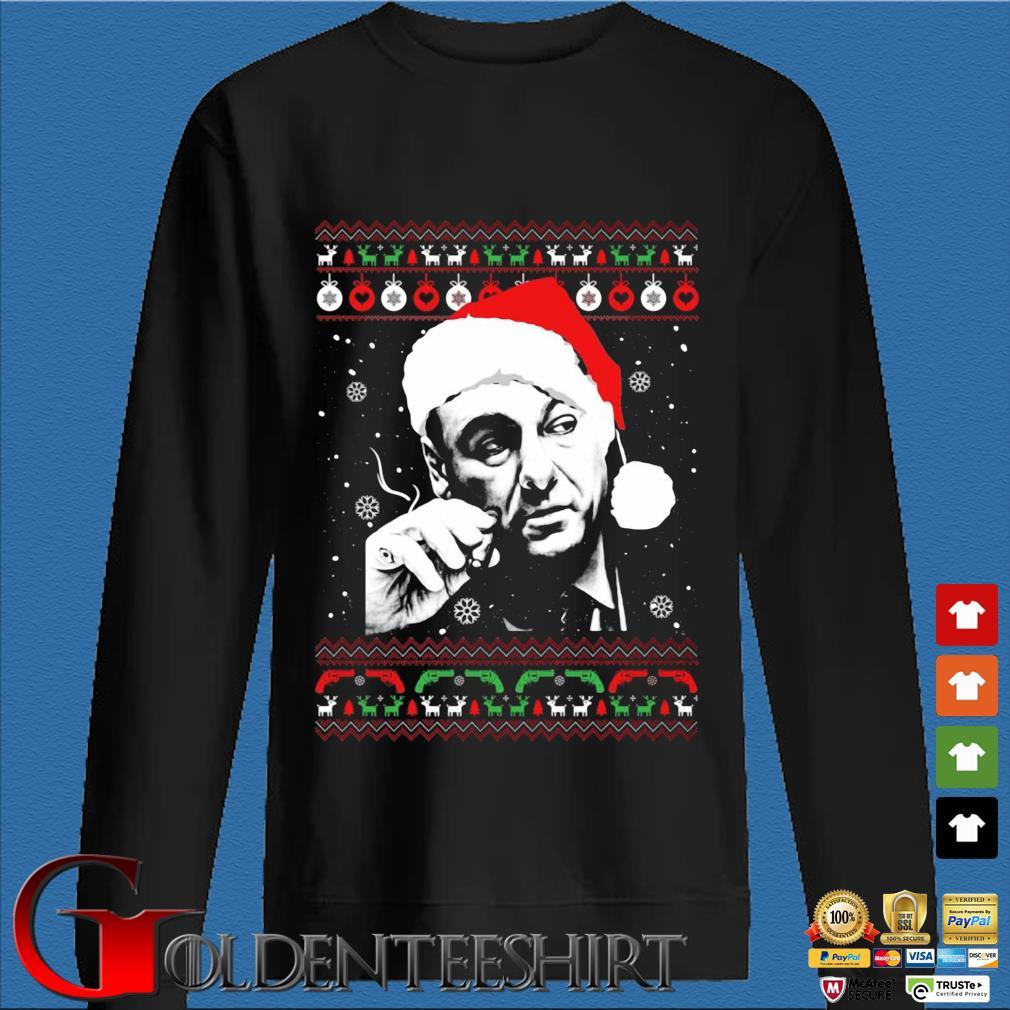 Tony Soprano Ugly Christmas Sweater