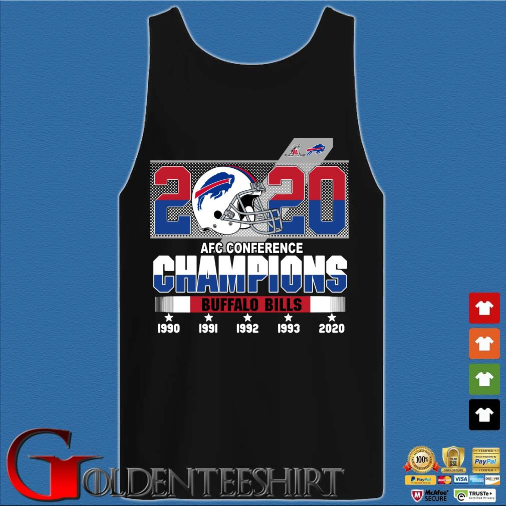 2020 AFC conference Champions Buffalo Bills 1990-2020 s Tank top den