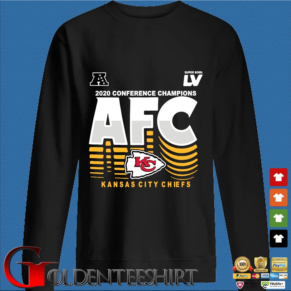 2020 conference Champions AFC Kansas City Chiefs s Den Sweater