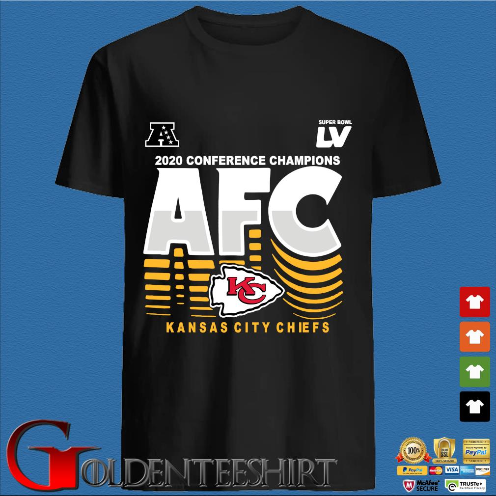 2020 conference Champions AFC Kansas City Chiefs shirt