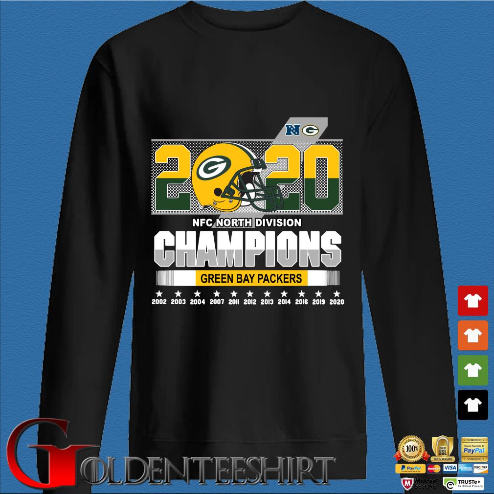2020 NFC North Division Champions Green Bay Packers 2002-2020 s Den Sweater