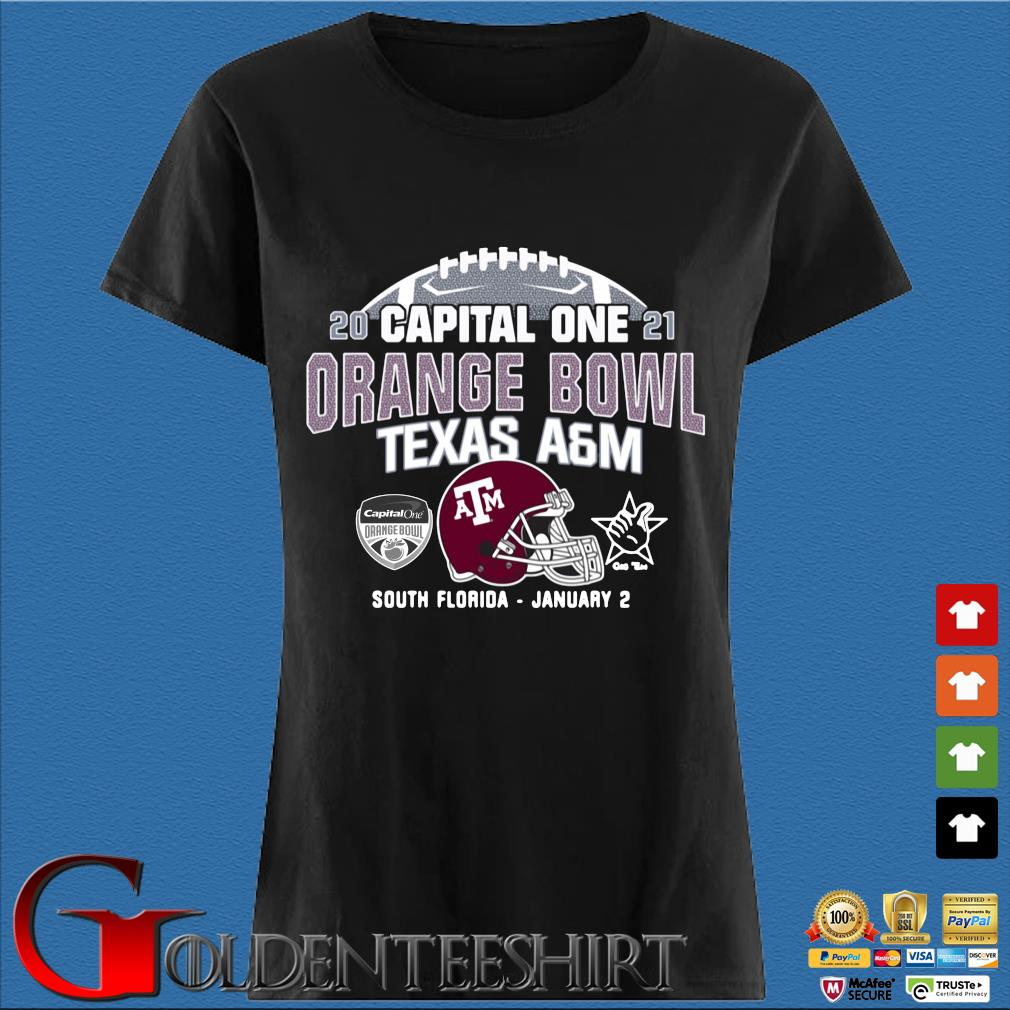 2021 capital one orange bowl Texas a&m South Florida january 2 s Den Ladies
