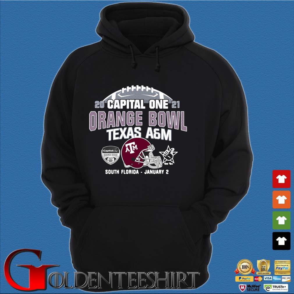 2021 capital one orange bowl Texas a&m South Florida january 2 s Hoodie đen