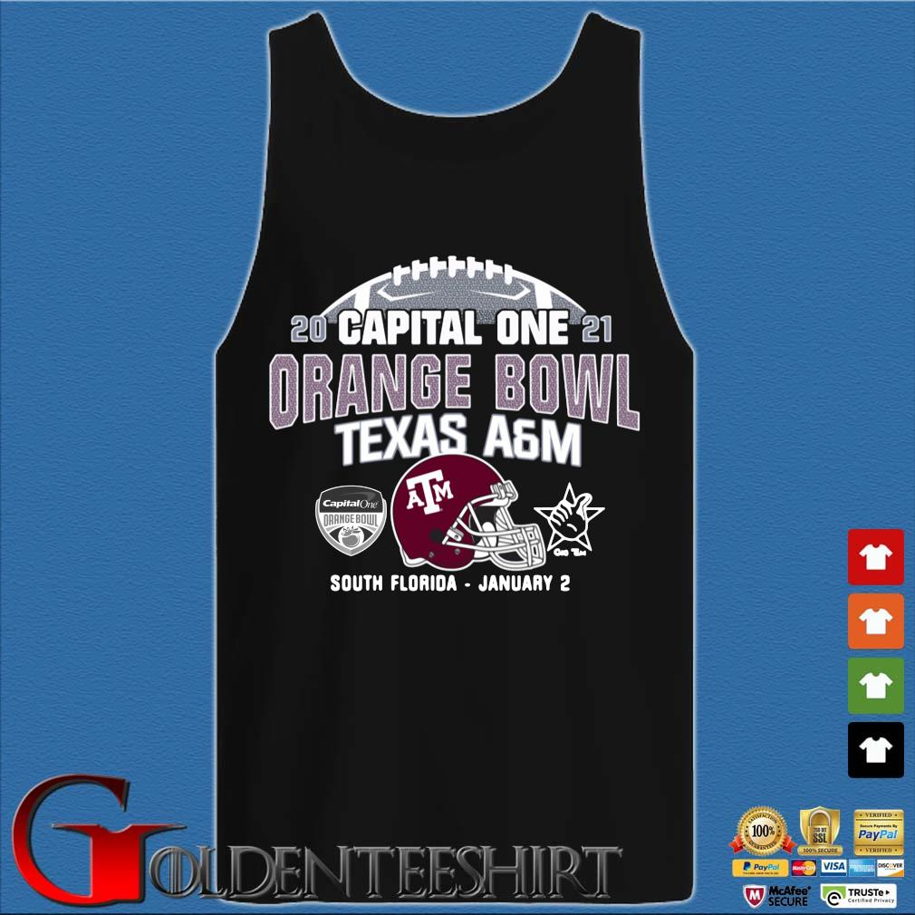 2021 capital one orange bowl Texas a&m South Florida january 2 s Tank top den