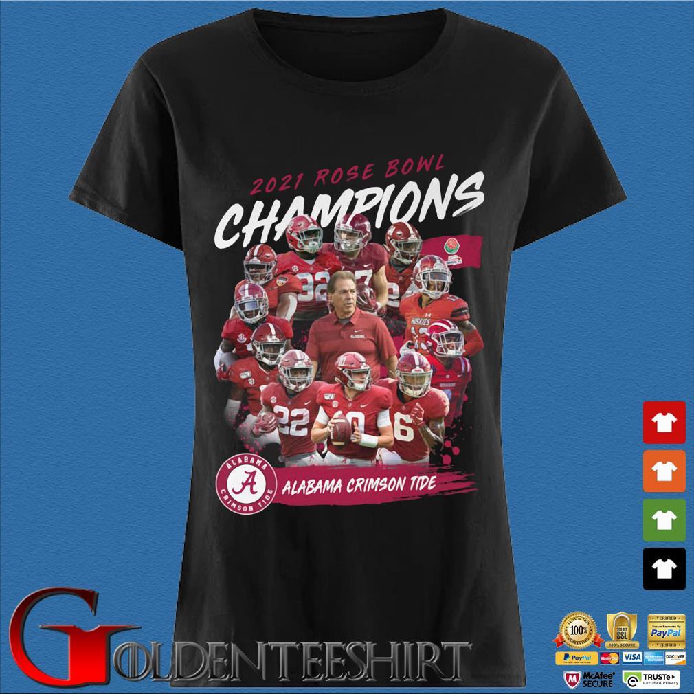 2021 Rose Bowl Champions Alabama Crimson Tide s Den Ladies