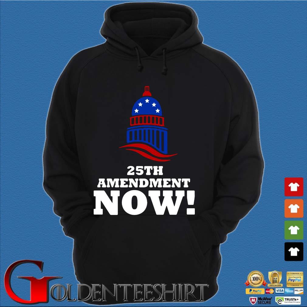 25th Amendment Now Remove Trump Fom Shirt Hoodie đen