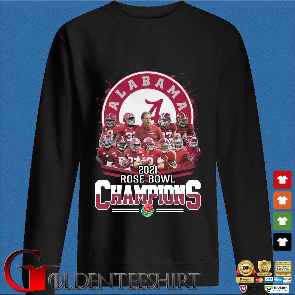 Alabama Crimson Tide 2021 Rose Bowl Champions s Den Sweater
