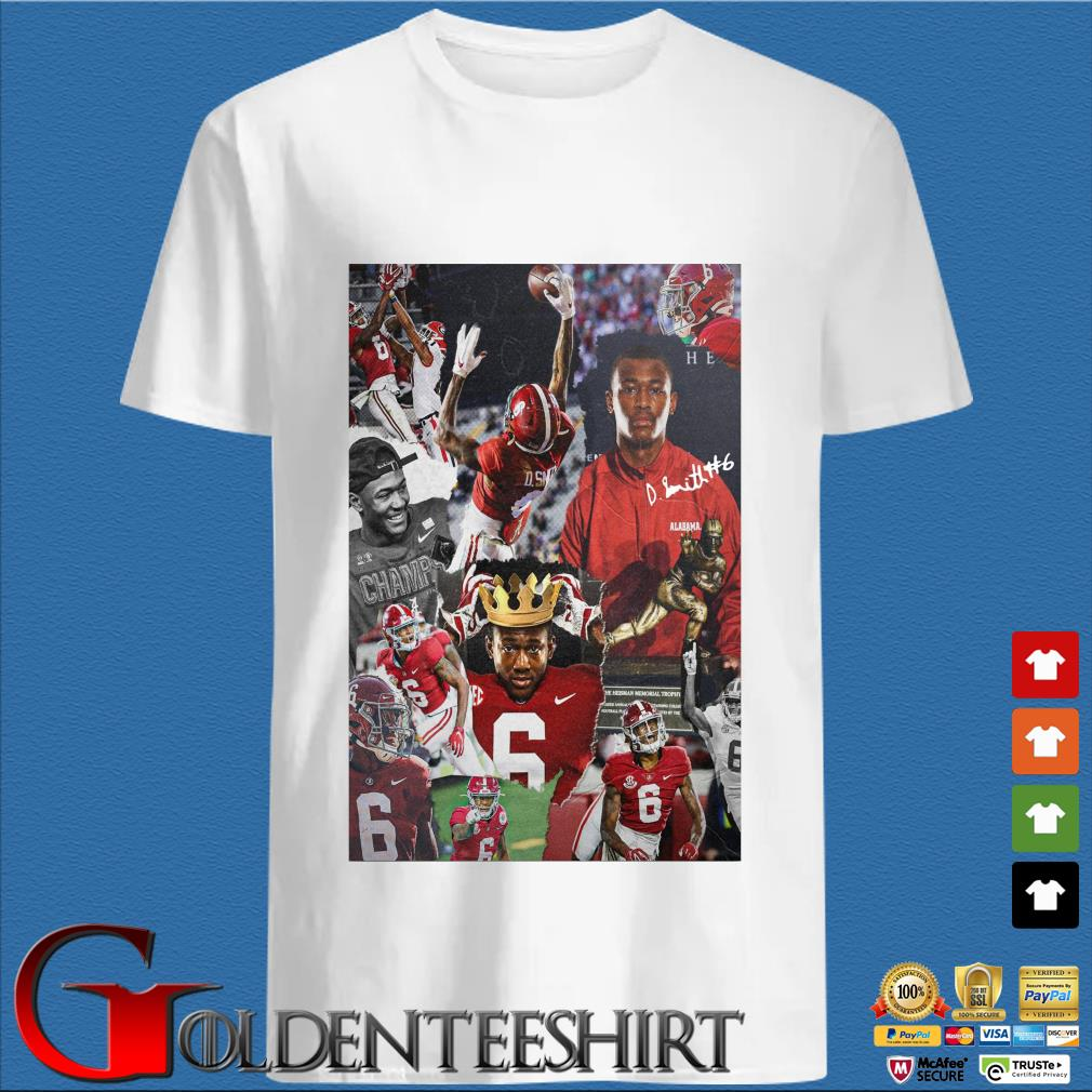 Alabama Crimson Tide Devonta Smith signature shirt