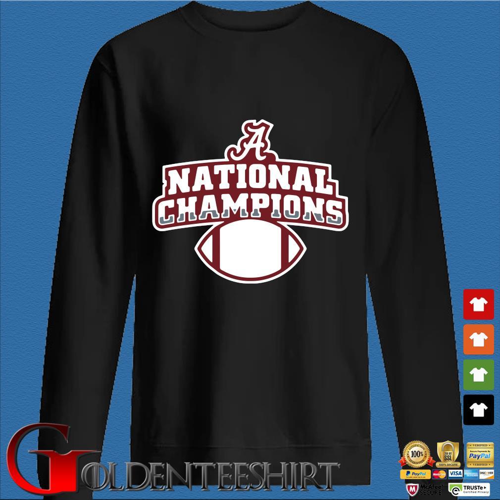 Alabama Crimson Tide national Champions t-s Den Sweater