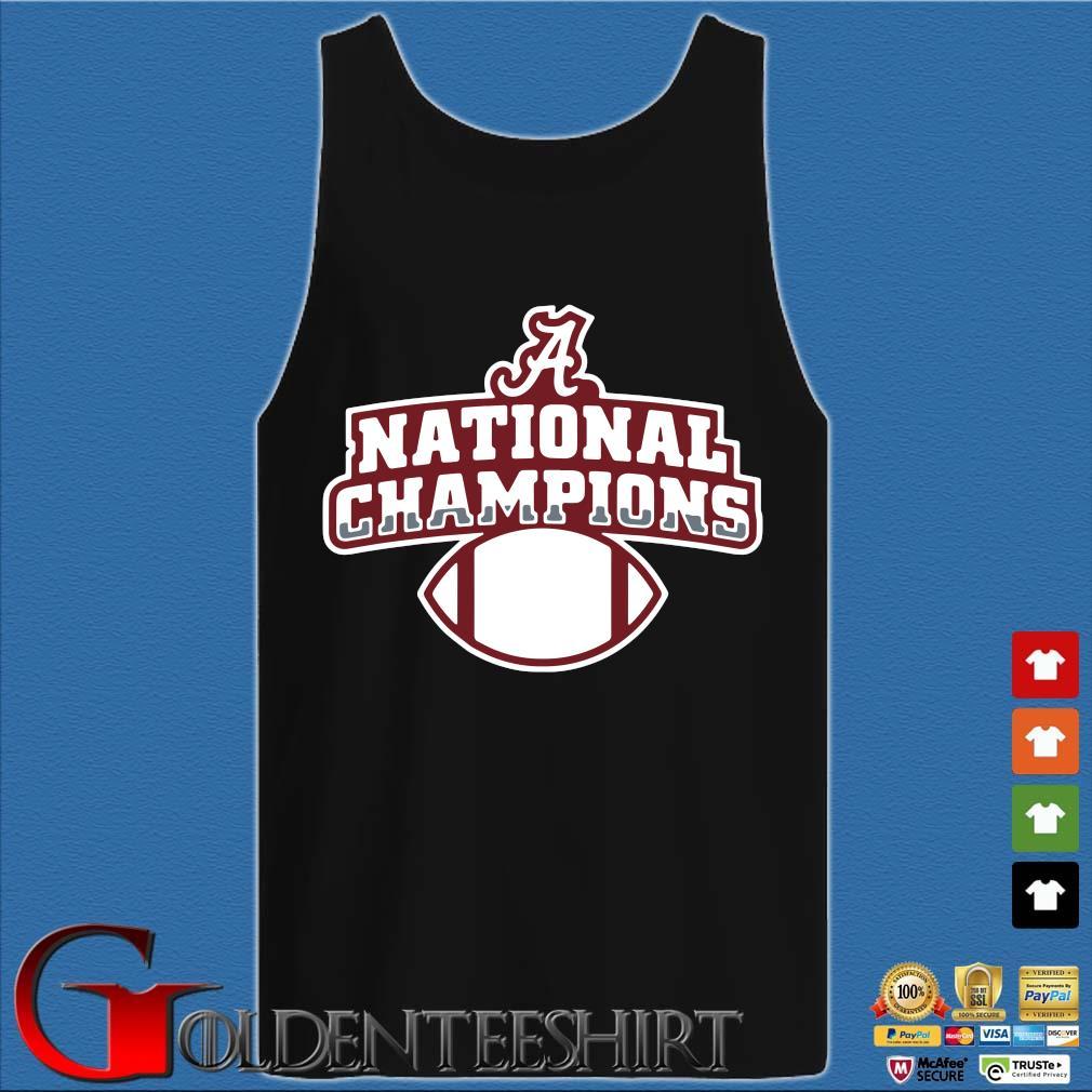 Alabama Crimson Tide national Champions t-s Tank top den