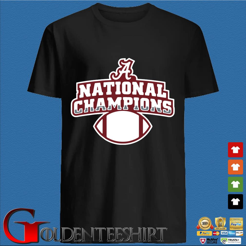 Alabama Crimson Tide national Champions t-shirt